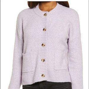 Madewell Colburne Coziest Textured Yarn Cardigan